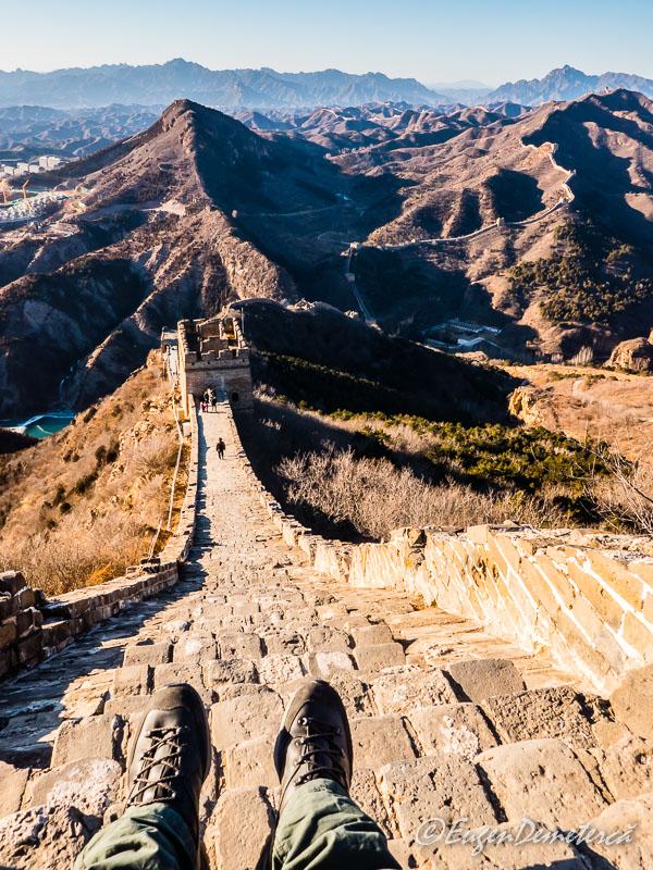 Marele Zid  - Simatai sus