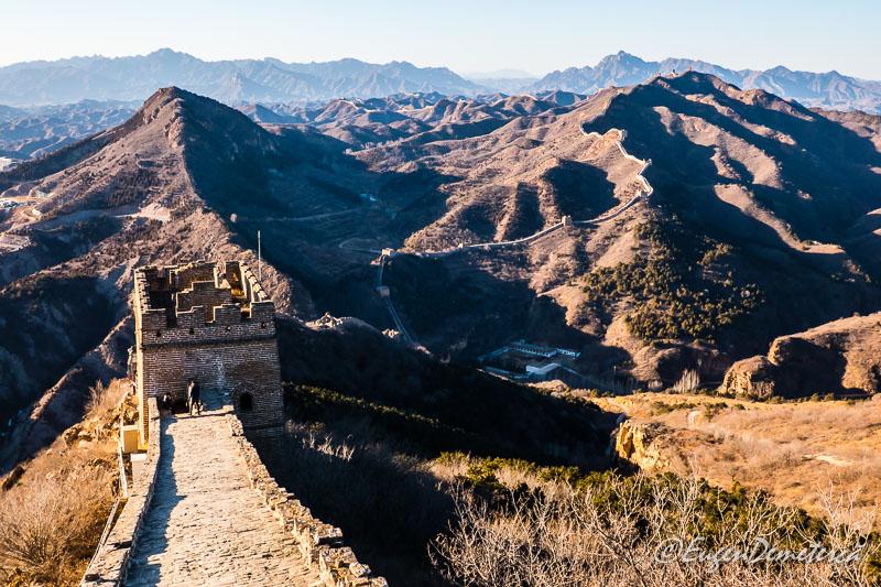 Marele Zid Chinezesc - Simatai sus 2