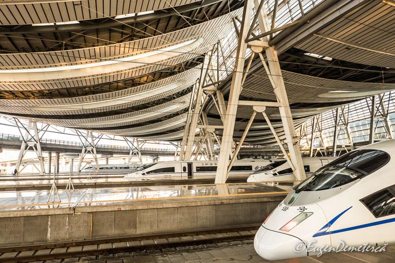 Trenuri de mare viteza in China