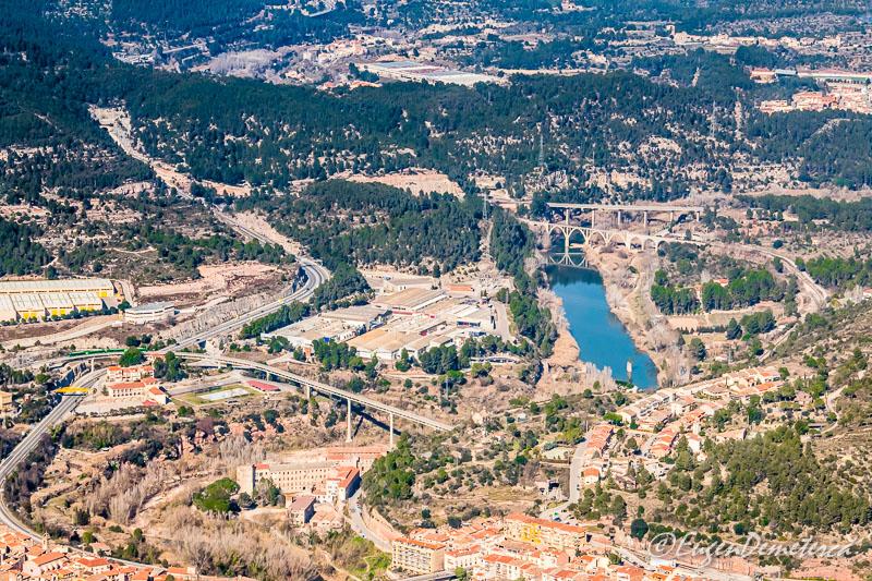 Montserrat - vedere spre Catalonia
