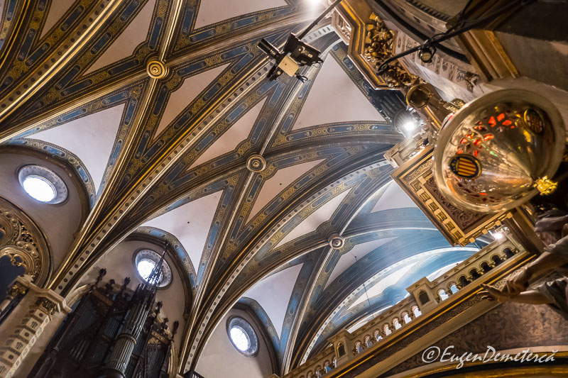 Montsserat - bolta bazilica