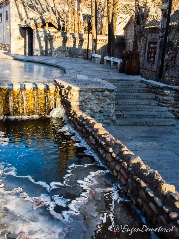 Canal cu gheata in Gubei