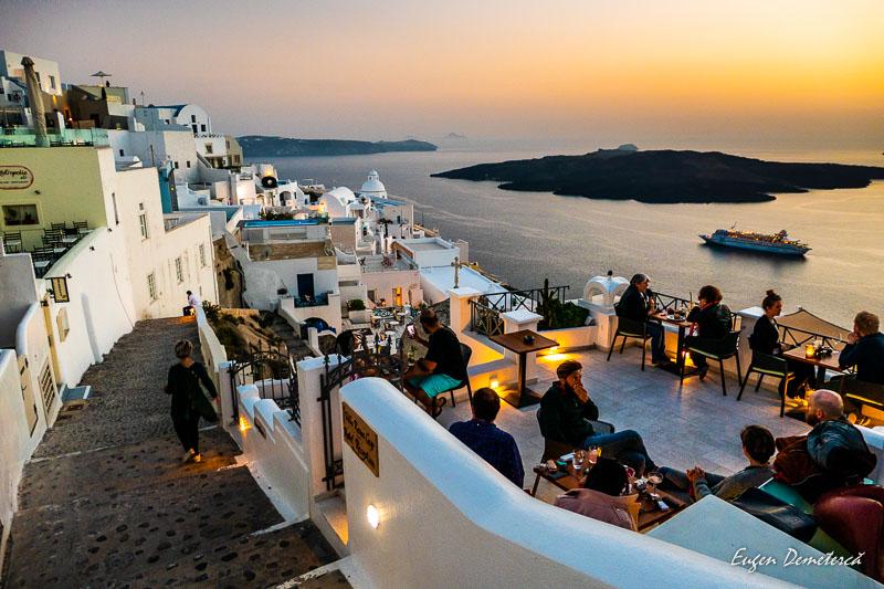 1000976 - Santorini, spectacolul Cicladelor