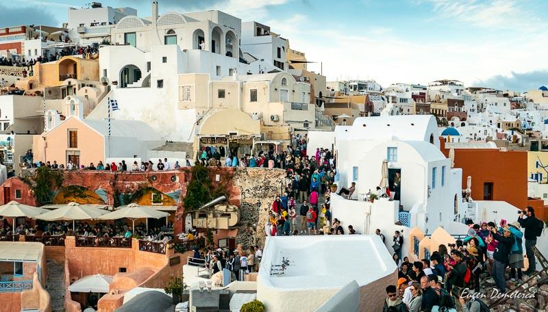 1011469 - Santorini, spectacolul Cicladelor