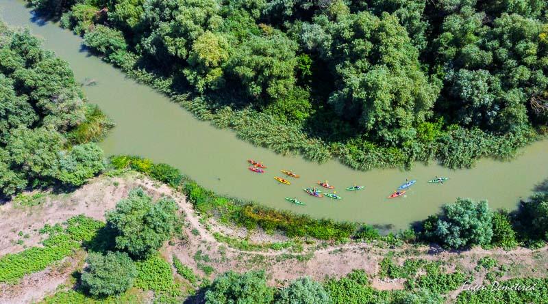 5 zile cu caiacul pe Dunare si Mare