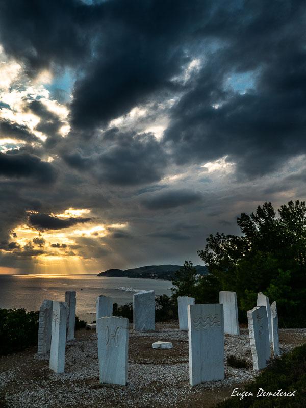 1070312 - Thassos - din turcoazul mării până în vârful munților
