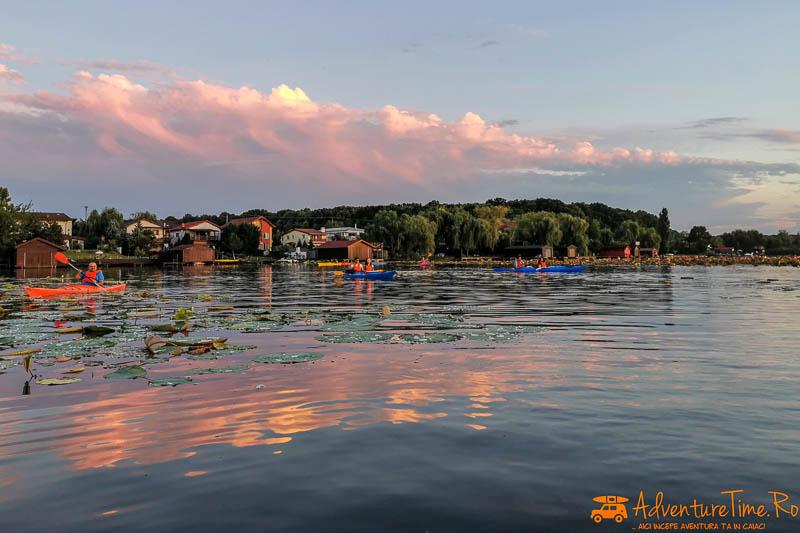 IMG 20200812 202752 - Desfătare cu apus și lotuși pe Snagov