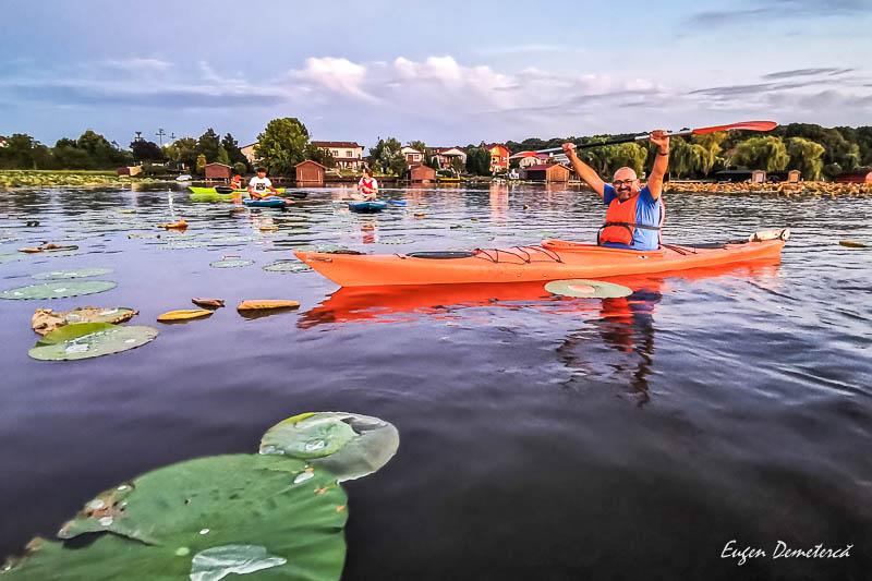 IMG 20200812 204255 - Desfătare cu apus și lotuși pe Snagov