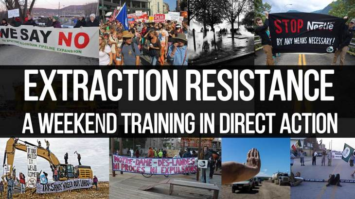Extraction Resistance Direct Action Deep Green Resistance