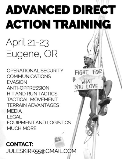 Direct Action Training Deep Green Resistance