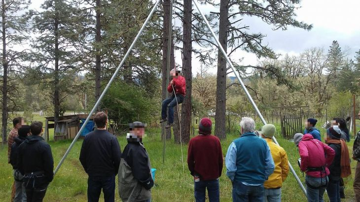 deep green resistance direct action training
