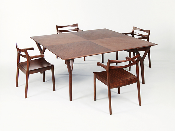 JEB Table & CALEB Chairs