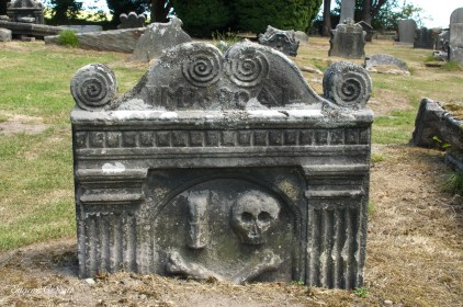An ancient tomb in Ireland