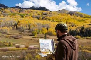 Colorado fall foliage artist