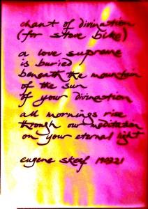 chant of divination (for Steve Biko)