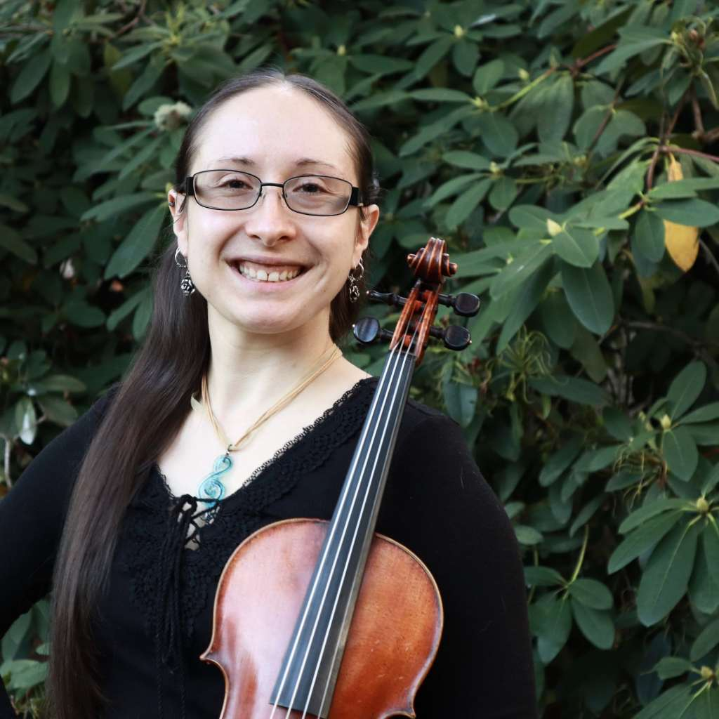 Eugene Suzuki Violin Teacher Meagan Ruvolo