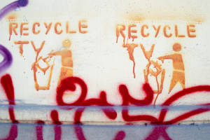 Bucuresti-stencil-recycle