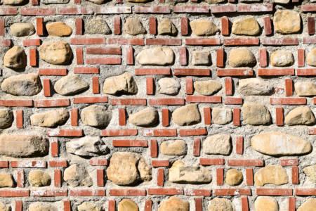 Red Brick Wall (Targoviste, Romania, June, 2018)