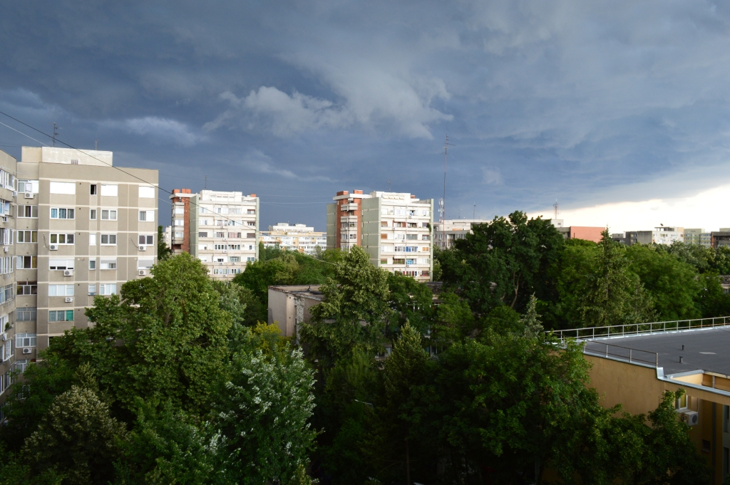 Summer Storm Bucharest 01