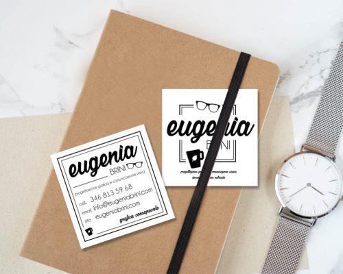 Biglietto Visita Eugenia Brini