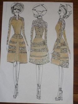 gold with.. gold casual dress