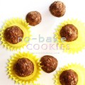No-bake chocolate peanut butter oatmeal cookies and balls