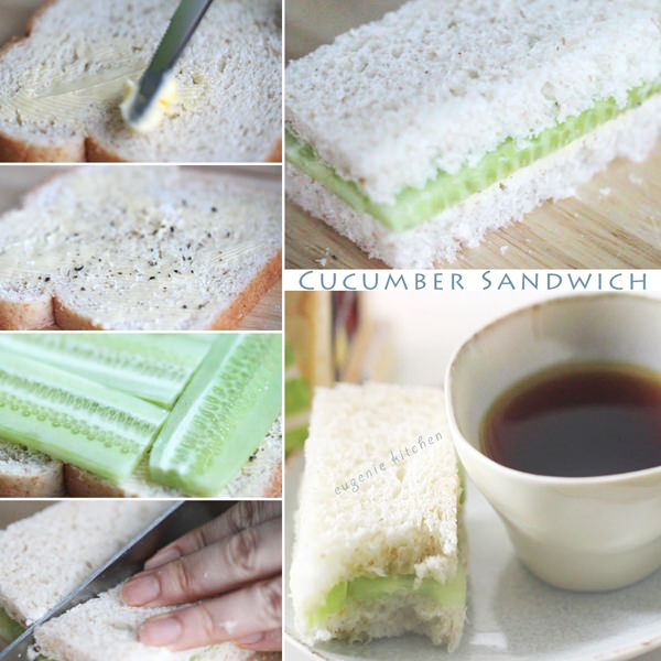 Cucumber Sandwich Recipe - Tea Sandwiches