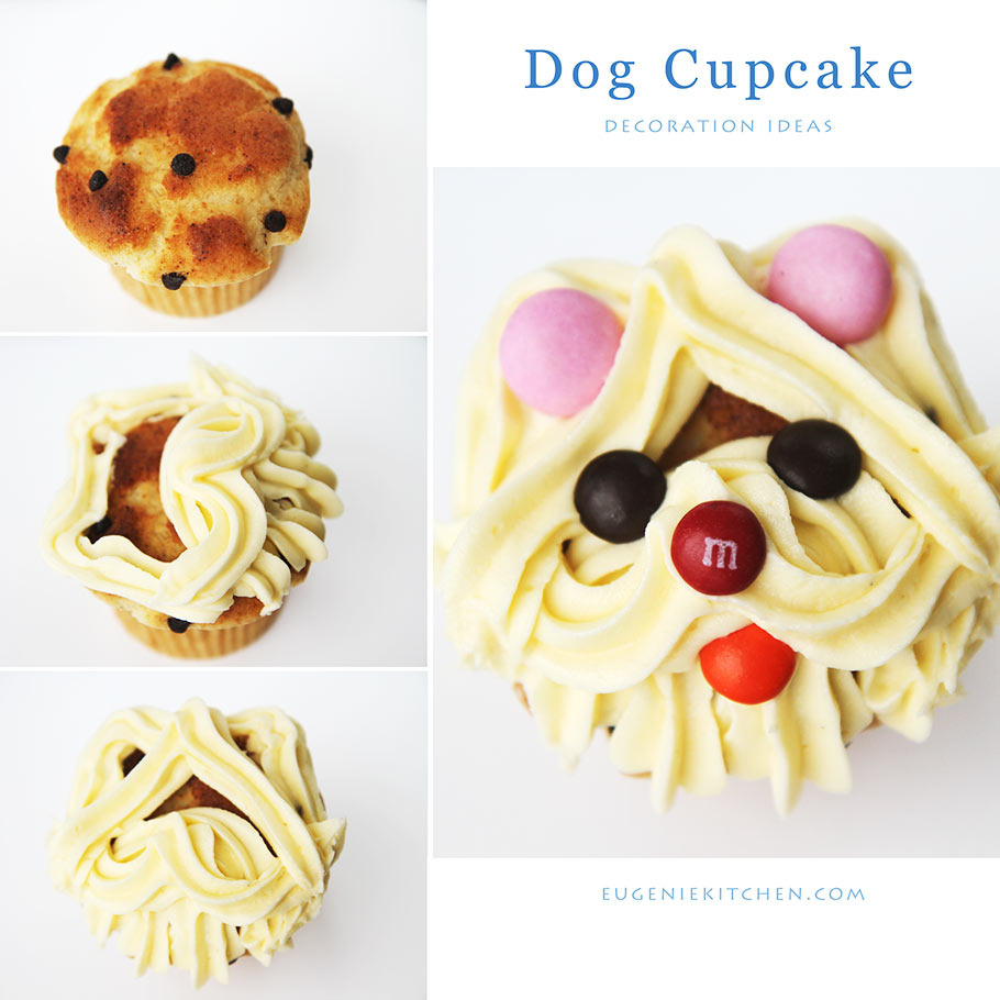 Puppy Dog Cupcake Decoration Ideas