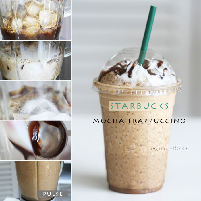 How to make homemade Starbucks mocha Frappuccino with this quick and easy recipe