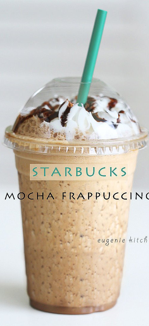 How To Make Starbucks Mocha Frappuccino At Home Copycat Recipe