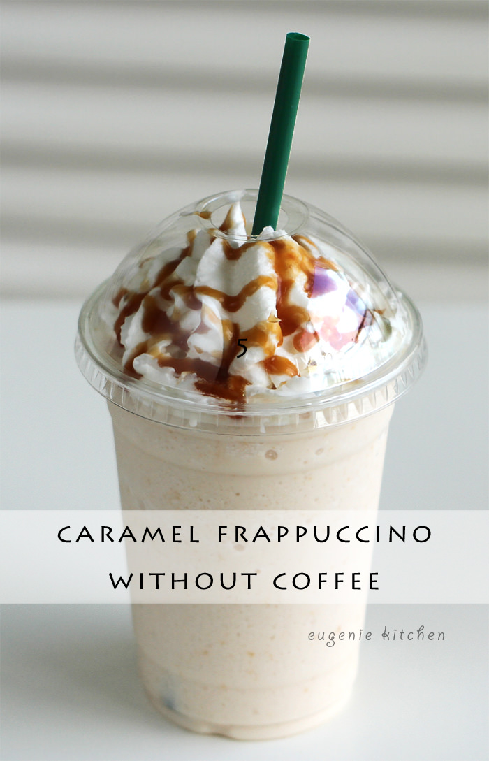 How To Make Caramel Frappuccino Without Coffee Copycat Recipe