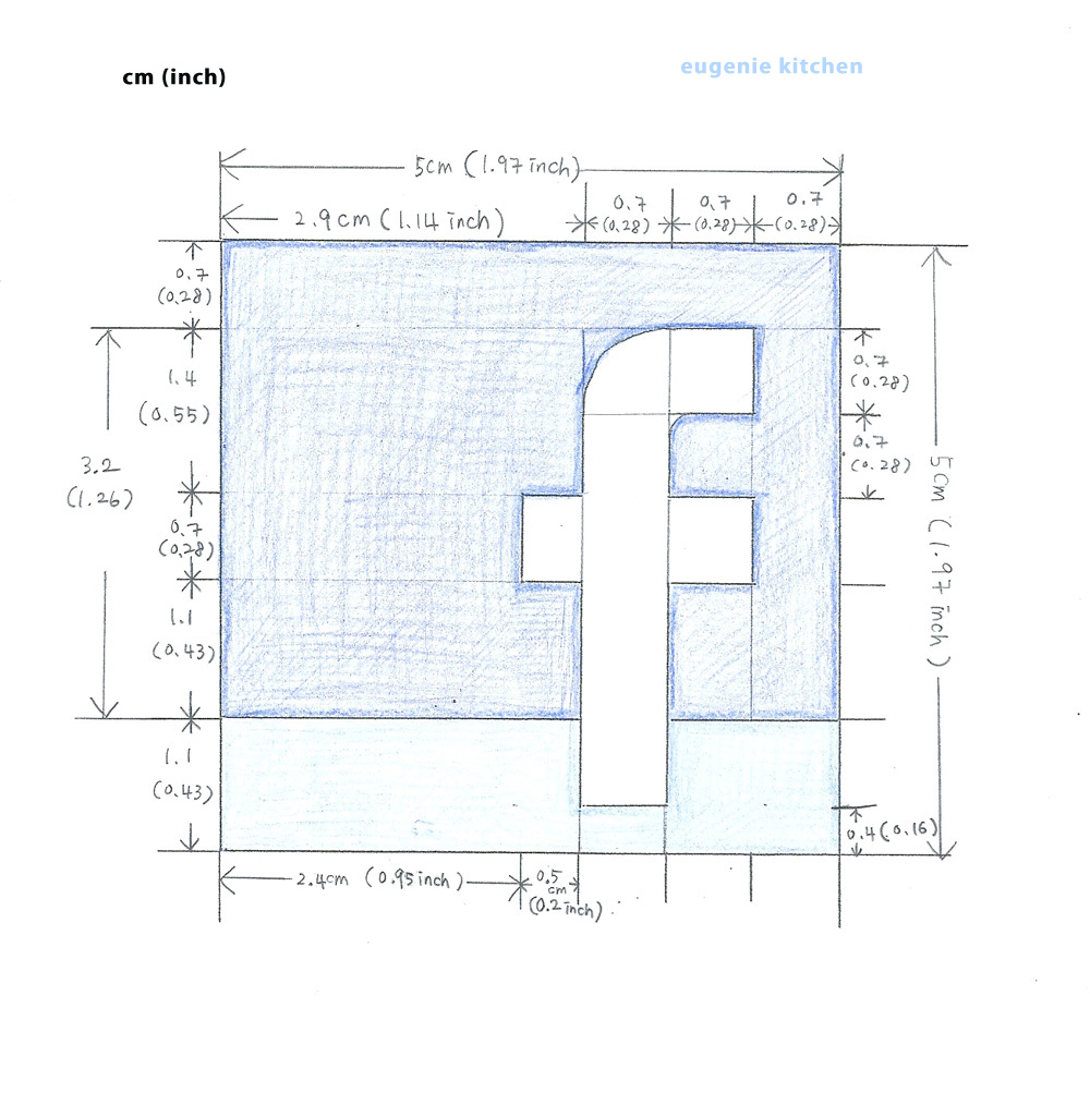 Facebook Cookie Template  - Eugenie Kitchen