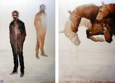 Apcalypso, 200x150 cm, oil on canvas, 2008