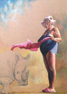 Materada, 70x50 cm, acrylic on canvas
