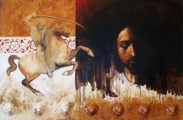 E.M. 100x150 cm, oil on canvas, 2008
