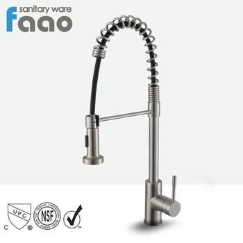 pull out kitchen faucets renovations on a budget 按照faao镀铬黄铜upc 61 9 nsf拉出厨房水槽水龙头 拔出厨房水龙头