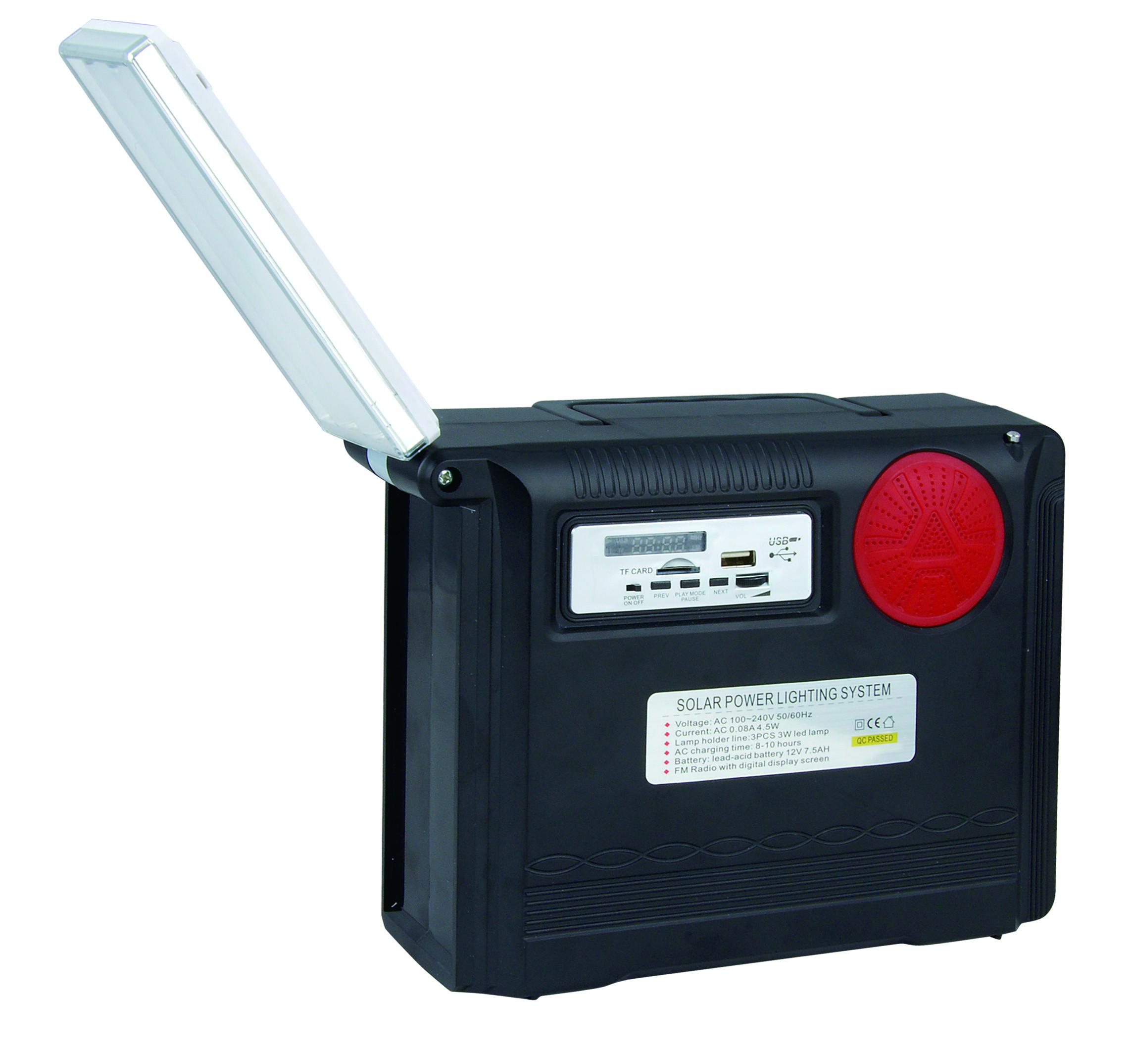 light solar home portable lighting system