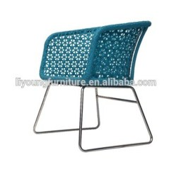 All Weather Garden Chair How Much Does A High Cost Outdoor Rattan Furniture Wicker Mesh Aluminum Cheap Plastic Blue