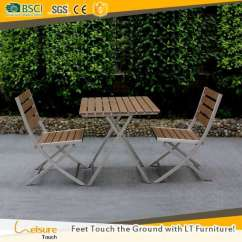 Folding Chair Picnic Table Stand Covers Uv Anti Portable Plastic Wood Garden Set For Furniture Balcony Outdoor Fold 2 Chairs