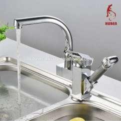 Pull Out Kitchen Faucets Small Dishwashers For Kitchens 旋转单柄镀铬拉出厨房水槽水龙头喷射混合器水龙头 拔出厨房水龙头