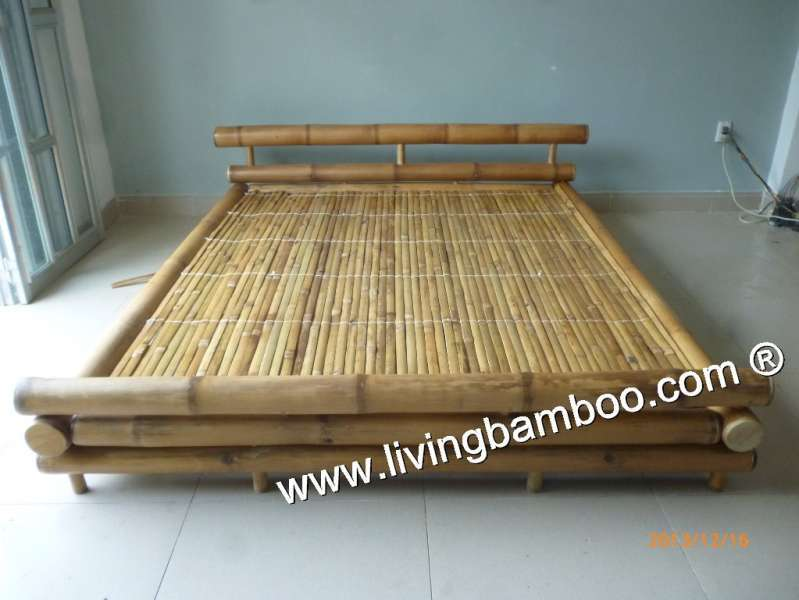 lion bamboo bed