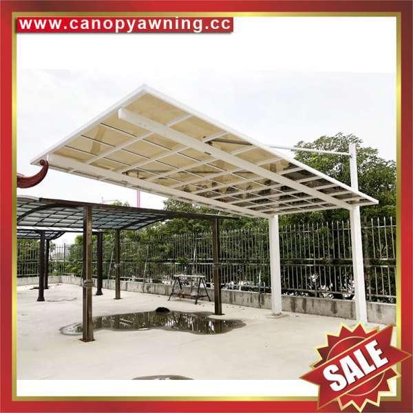 China Alu Parking Outdoor Sunvisor Aluminum Pc Polycarbonate