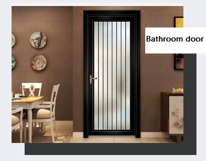 Beautiful Design Home Bedroom And Bathroom Aluminum Doors