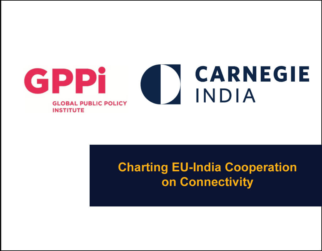 Charting-EU-India-Cooperation - GPPI and Carnegie India