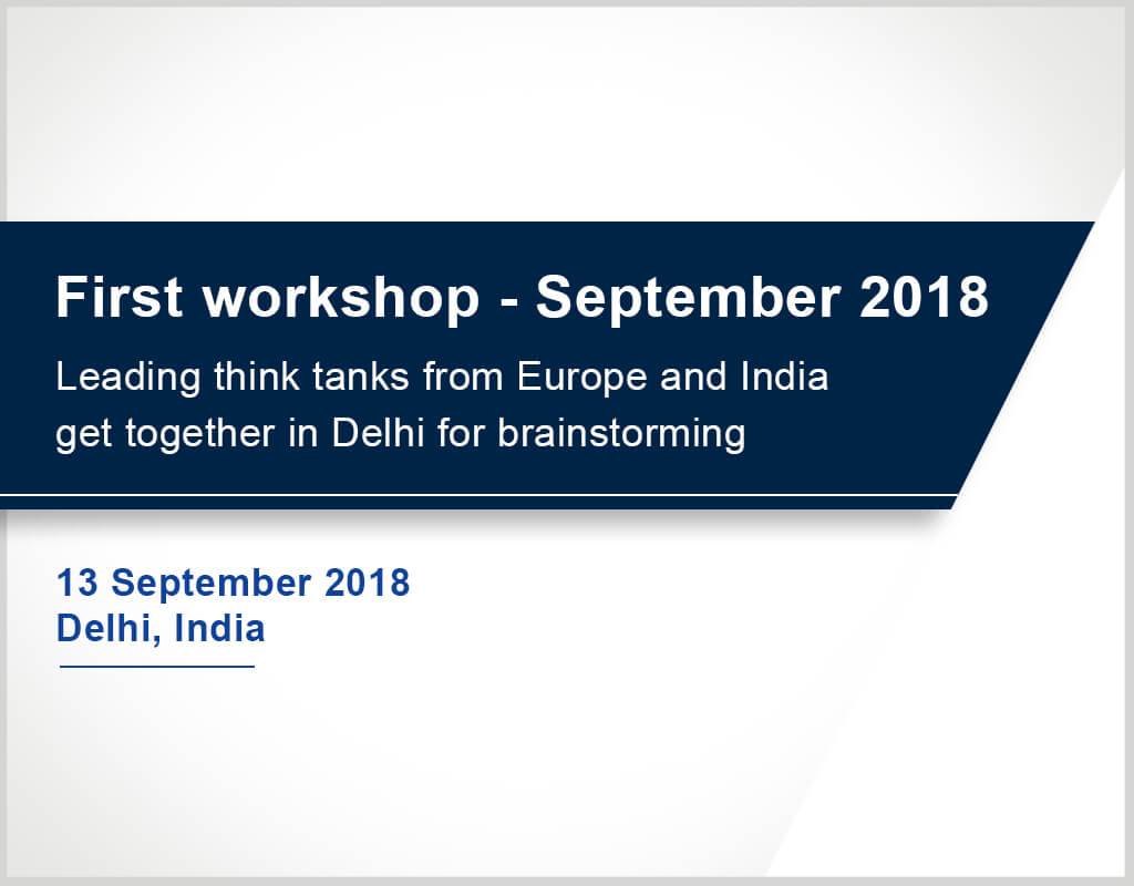 First Workshop -September 2018