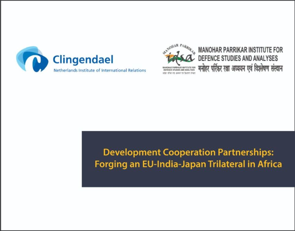 Development Cooperation Partnerships - Forging an EU-India-Japan Trilateral in Africa