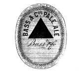 Eine der ersten eingetragenen Marken von Bass Pale Ale Brewery