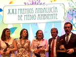 The LIFE programme wins Andalusian Environment Awards 2017