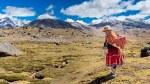 Photo of Peruvian indigenous old woman