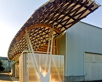 Timber rooftops reduce construction sector emissions